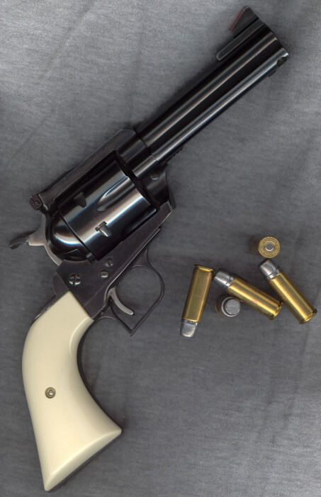 Ruger 'Superized Blackhawk .45 Convertible